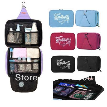 10pcs/lot Men's/Ladie's Travel Toiletry Wash Bag & Makeup Case & Hanging Wash Bag TB001