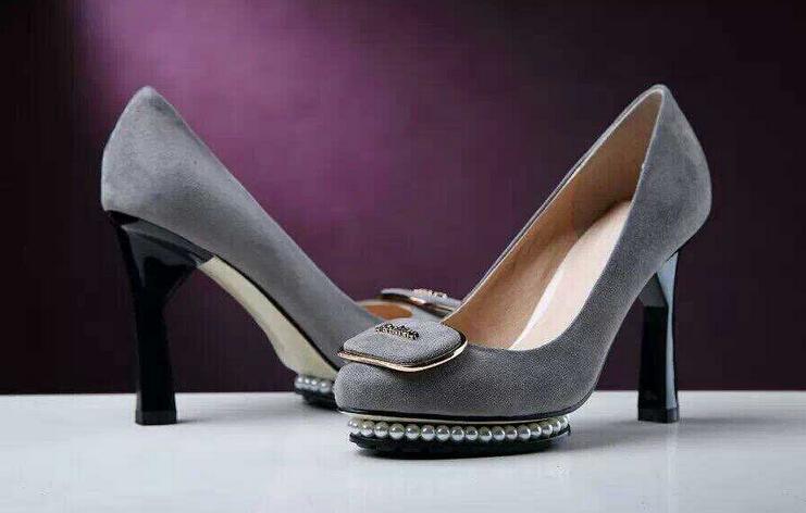 2015 spring-summer elegant women shoes genuine leather pointed toe platform high heels slip-on python fashion pumps for Party