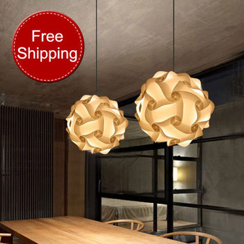 Christmas light Italy design personal round IQ puzzle lamp 50cm ball pendant light real child bedroom pvc light free shipping