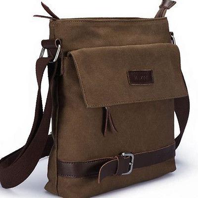 Горячие мужские винтаж холст сумка от школы военная сумка