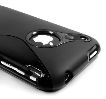 TPU RUBBER CASE COVER SKIN FOR IPHONE 3G 3GS(China (Mainland))