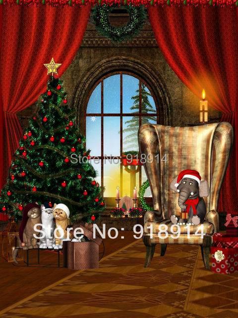 Free Shipping 5x7ft Christmas