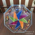 transparent umbrella student parasol children s cartoon