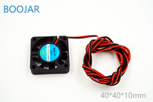 4010 cooling fan 3D printer parts DC 12V 0 1A 40 40 10mm with 2 54
