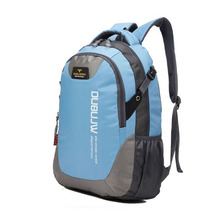 2016 New Fashion Brand Design Unisex Soft Handle Daily Life Sport Double-Shoulder Travel Backpack School Bags For Teenagers 3t