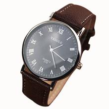 Splendid Luxury Fashion Faux Leather Mens Quartz Analog Watch Male Boy BusinessMan Watches Mechanical