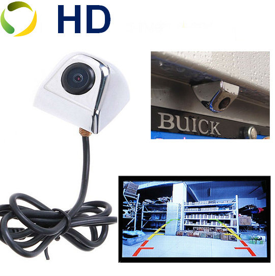 2016 New Waterproof CCD Universal HD Car Rear view BackUp Reverse Parking Camera Black Chromed White Front/Side View Camera(China (Mainland))