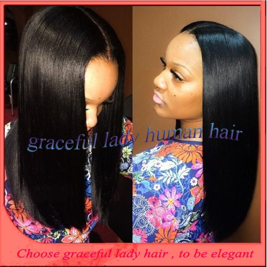Cheap price 100% virgin unprocessed brazilian human hair wigs glueless silk top full lace wigs no shedding for black women<br><br>Aliexpress
