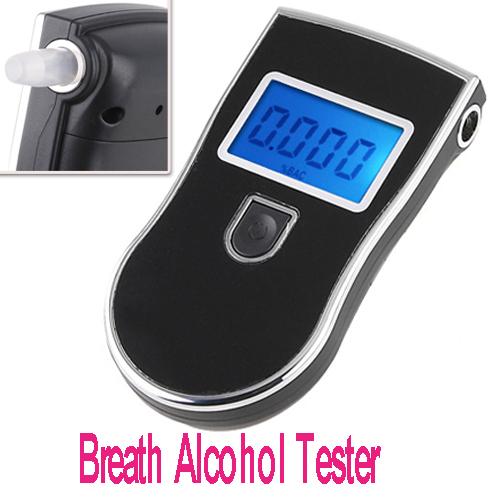 Prefessional Digital Breath Alcohol Tester Breathalyzer, Freeshipping, Dropshipping(China (Mainland))