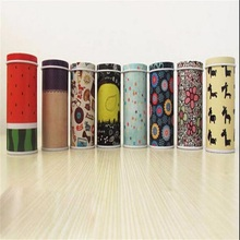 hot sales Metal Box Coin Saver Gift Toothpicks Holder Mini Tin box Round Shape Candy Can Painted free shipping(China (Mainland))