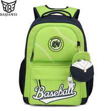 BAIJIAWEI 2017 Design Kids Backpack Cute High Quality School Bags In Primary School for Girls Boys Children Waterproof Backpacks(China (Mainland))