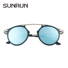 2016 Women Brand New Vintage Designer Sunglasses High-grade stainless steel Frame Glasses Women's Fashion Retro Sunglasses 8190