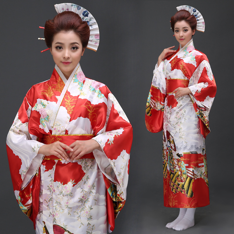 Japanese Style Bathrobe Long Cos Dress Temptation Costumes Kimono Japanese Traditional Kimono Japan Vestido Japones Tradicional,in Asia  Pacific Islands