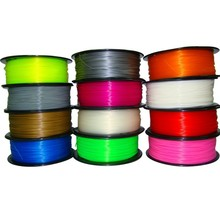 3D Printer Filament 1.75mm/3mm ABS conductive/color change/PA(Nylon)/Flexible 1kg/2.2lb for RepRap/MarkerBot