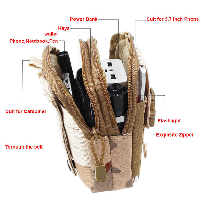 Tactical Molle Pouch Bag