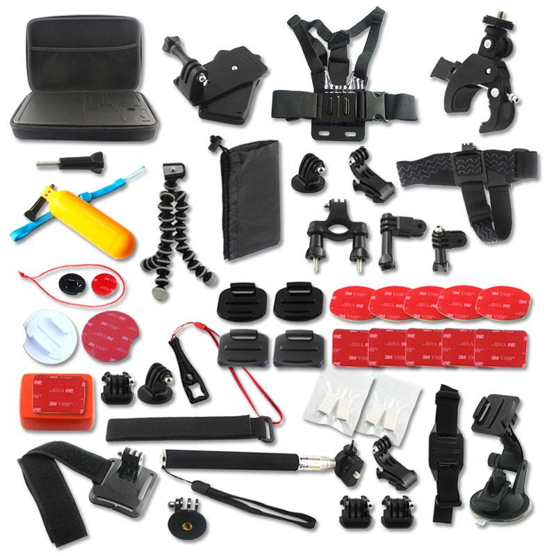 SOOCOO Action Sports Camera  Accessories Set for  SOOCOO S70/60B/60  SJCAM SJ4000 SJ5000 Gopro Hero 4  xiaomi yi