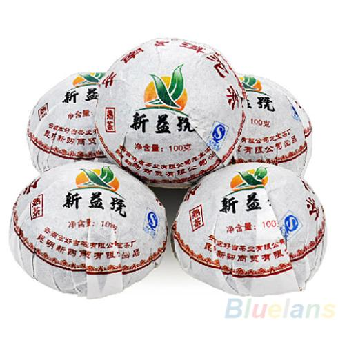 Гаджет  Xin Yi Hao Menghai Tuo Cha Puer Tea 100g Ripe  028A None Еда