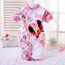 Baby Clothes Children Pajamas Newborn Baby Rompers Cartoon Infant Cotton Long Sleeve Jumpsuits Boys Girls Spring Autumn Wear
