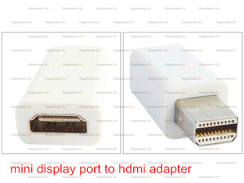 Free shipping Mini DisplayPort Display Port DP to HDMI Adapter Cable For Apple Mac Macbook Pro Air(China (Mainland))