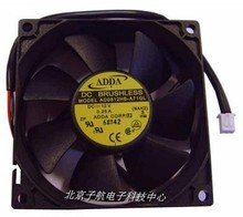 Used Free Shipping DC12V 0.25A Server Cooling Fan For ADDA AD0812HB-A71GL Server Square Fan 2-wire 80x80x25mm
