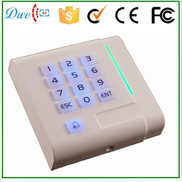 free shipping 125khz em id wiegand 26 keypad access control rfid smart card reader(China (Mainland))