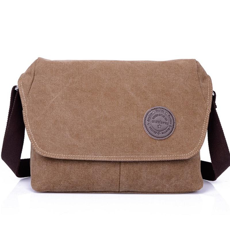 2016 Men messenger bag fork of design men tarpaulin bags men travel bag(China (Mainland))