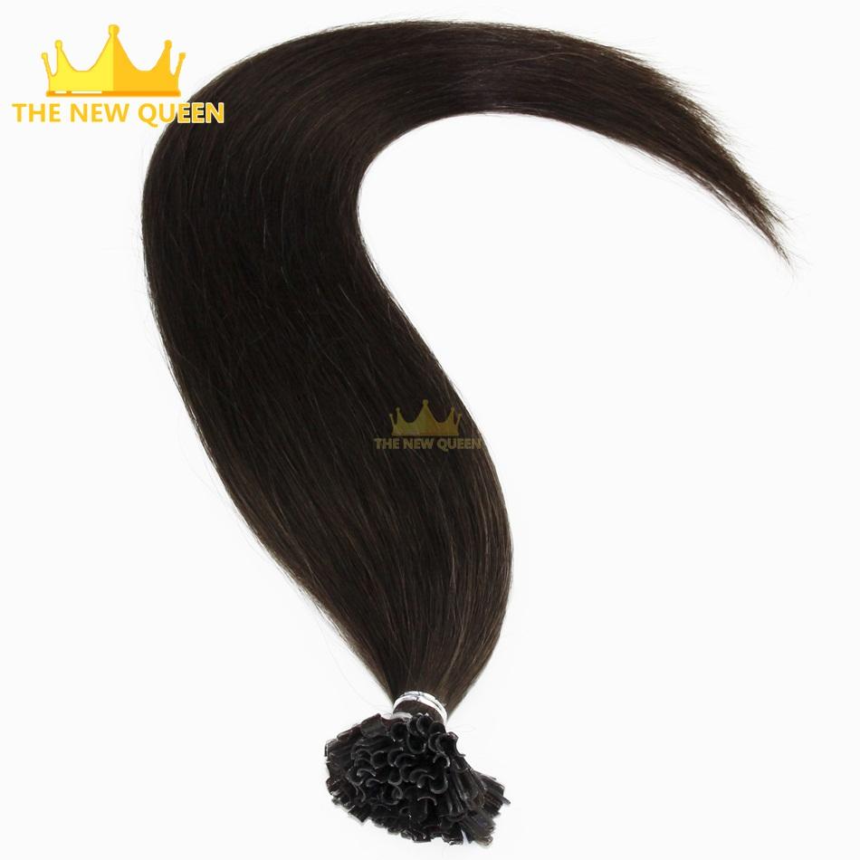 "24"" Nail Tip Hair Extension 1g/strand U Tip hair Extensions 100strand/pack Hot Fusion Hair Extensions Use Best Italan Keratin(China (Mainland))"