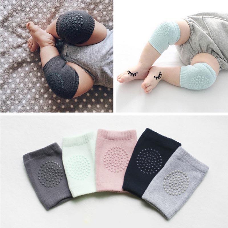 New Cotton Summer Baby Knee Pads Kids Anti Slip Crawl Necessary Knee Protector Baby Leg Warmers 1 Pair