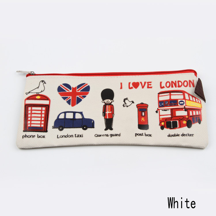 New Arrival Fashion Pencil Case Stationery Pencil Flew To London Oxford Student Stationery Gift Pack OSS-001665 (China (Mainland))
