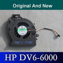 Original Laptop CPU Cooler Fan Fit For HP Pavilion DV6 DV6-6000 DV6-6050 DV6-6090 DV6-6100 DV7-6000 SUNON P/N:MF60120V1-C181-S9A