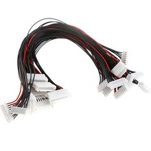 Buy 10Pcs JST-XH Plug 8S Lipo Balance Wire Extension Lead 30cm RC Car Boat Plane Accessories for $5.29 in AliExpress store