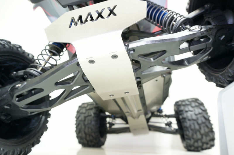 TRAXXAS X-MAXX chassis armor protection crash protection suit bottom<br><br>Aliexpress