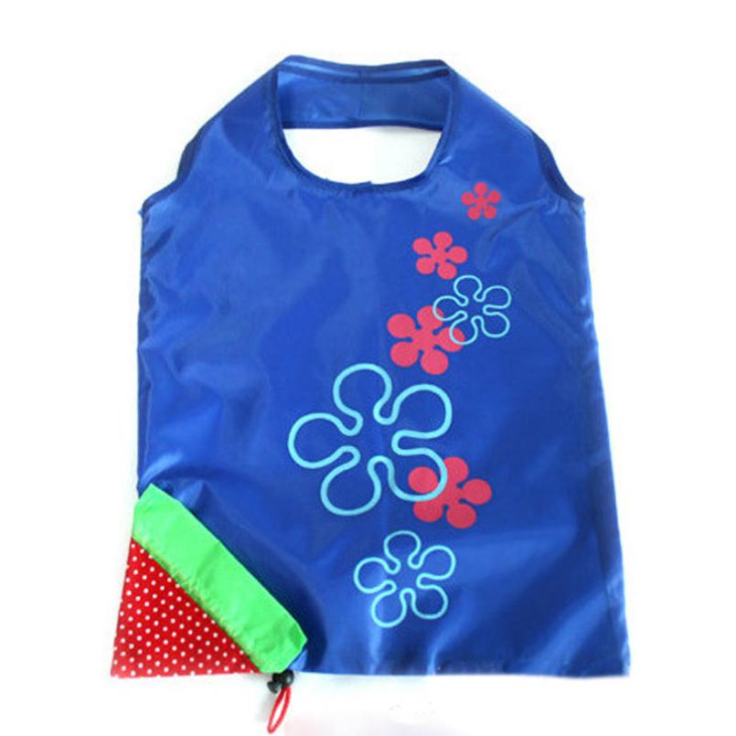 Excellent Quality 1 Pc New Eco Shopping Travel Shoulder Bag Pouch Tote Handbag Folding Reusable Bags Home Garden 3 Colors(China (Mainland))