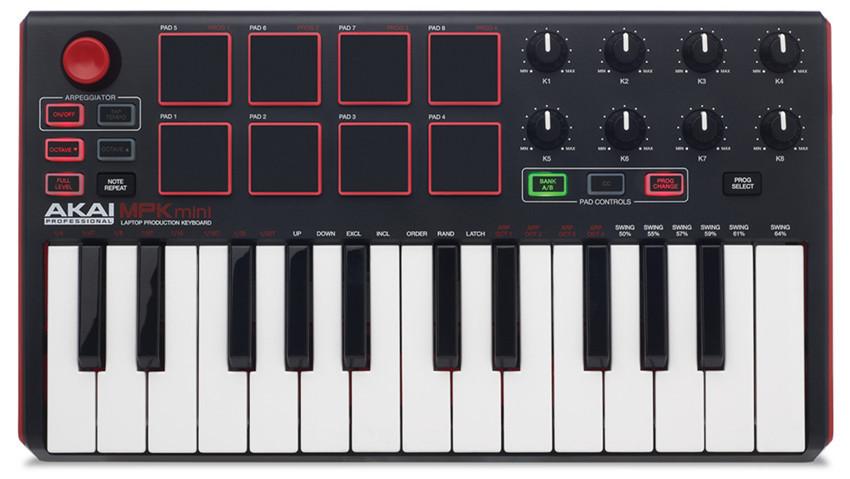 AKAI MPK MINI MK2 25 keys MIDI controller Keyboard control(China (Mainland))