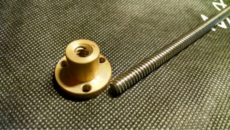Diameter: 8mm Lead Screw 4mm Pitch Mini CNC parts Price For 1CM rc tank parts