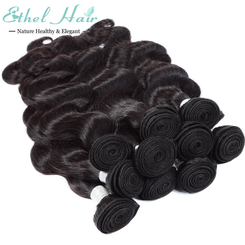 Peerless 7a Grade Brazilian Virgin Hair 8-26 Inches Alimice Hair total 10Bundles Brazilian Body Wave 100 Human Brazilian Hair(China (Mainland))