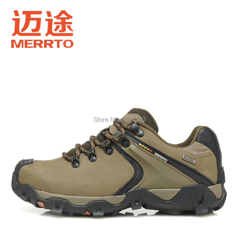 2014 new arrival outdoor climbing shoes genuine leather