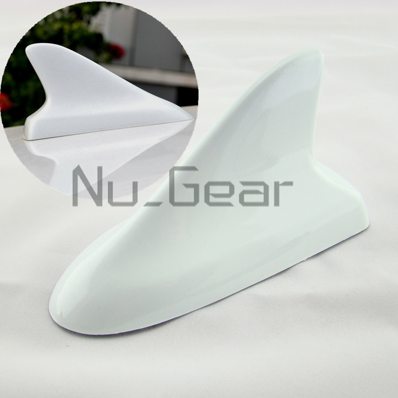 Car buick style dummy top roof decorative shark fin for Antenna decoration