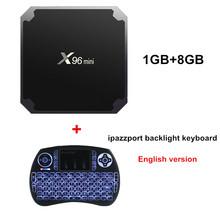 X96 Мини Android ТВ коробка KD плеер 17.4 Amlogic s905w 4 ядра 2 ГБ 16 ГБ UHD H.265 2.4 г Wi-Fi 4 К media player x96mini телеприставке(China)