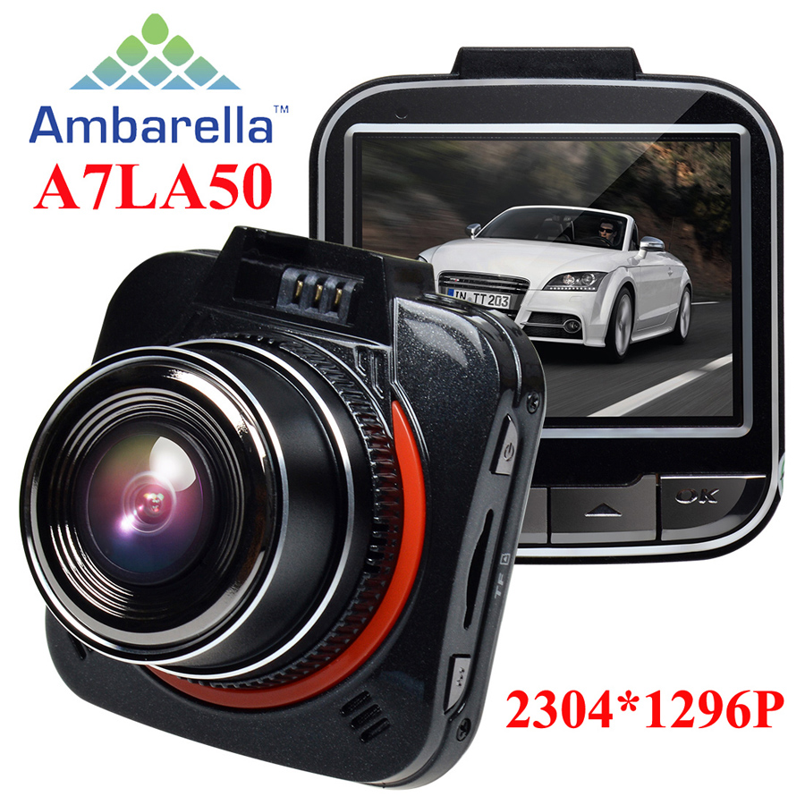 Ambarella A7LA50 XHD 1296P Car DVR DashCam GS52D G52D Mini Car Camera Recorder Time Lapse LDWS/FCWS GPS(Optional)(China (Mainland))