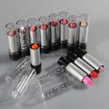 Fashion 12 Pcs Peach Pink Makeup Lasting Bright Lipsticks Lip Gloss Makeup Set Free shipping