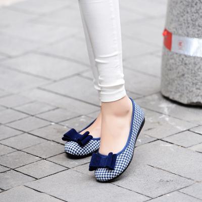 Обувь Женщина 2016 Женщин Беременные Обувь ткани обувь Квартиры Мокасины Поскользнуться ...