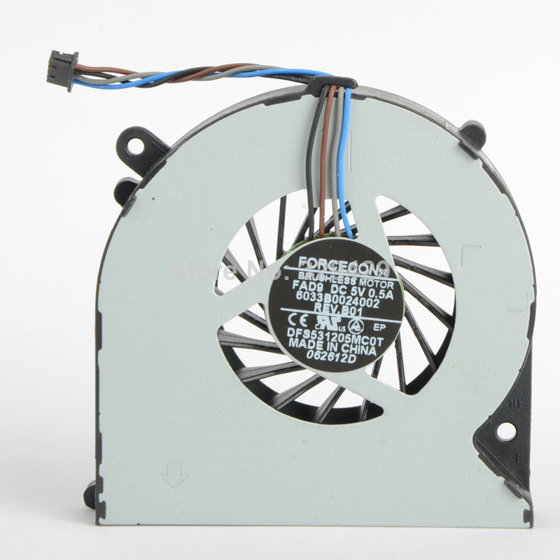 Laptops Replacements Cpu Cooling Fans Fit For HP Probook 4530S Series DC 5V Notebook Computer Accessories Cooler Fans F0624 P72(China (Mainland))