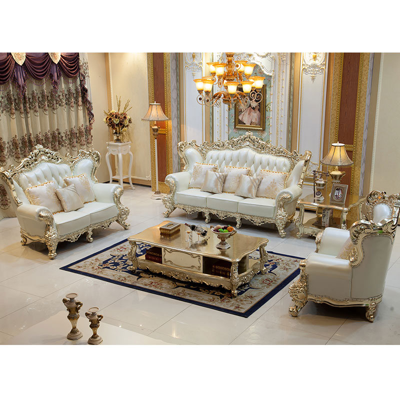 Aliexpress Super Deal Big Sale Luxury French Style Sofa Set Living Room Furniture In Living Room