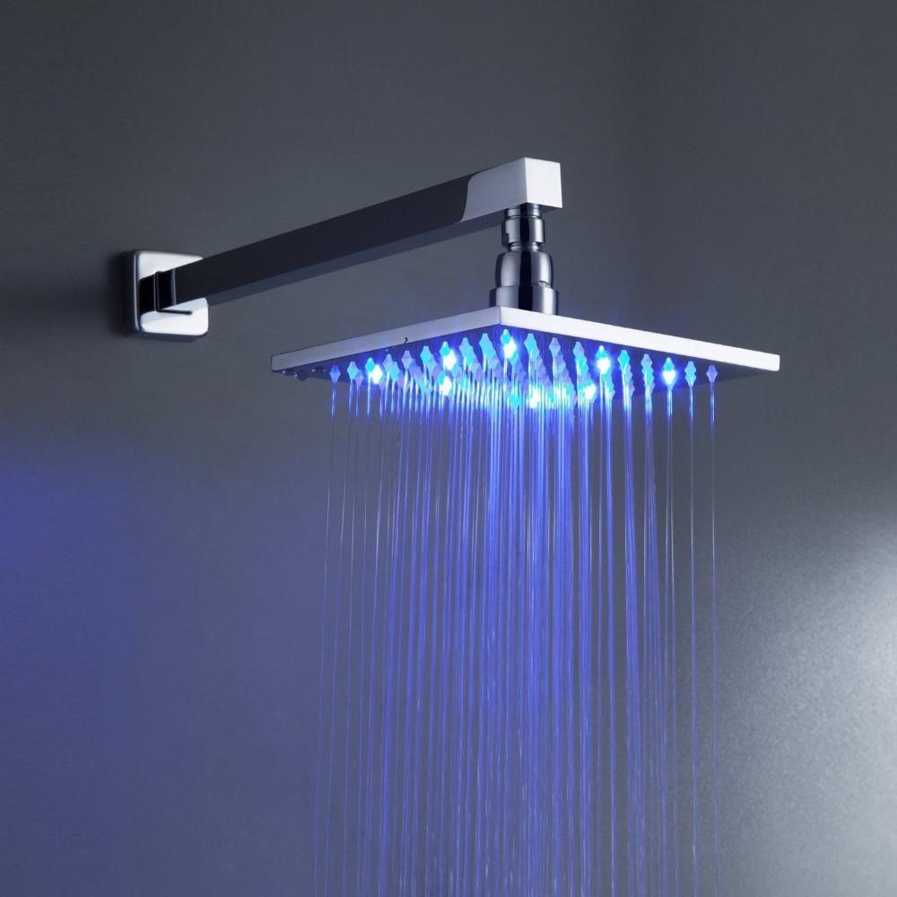 Купить BECOLA высокое качество ПРИВЕЛО душ Под Давлением спринклерной костюм душ Квадратная голова Горячий душ