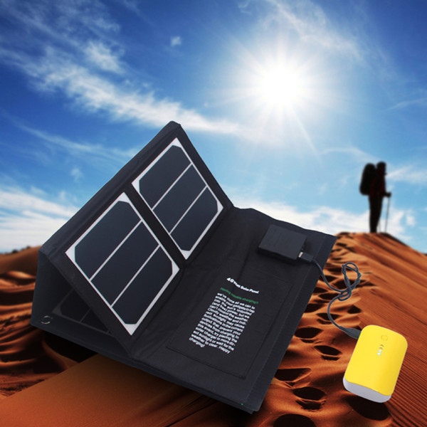 40w Sunpower folding solar panel for laptops tablets