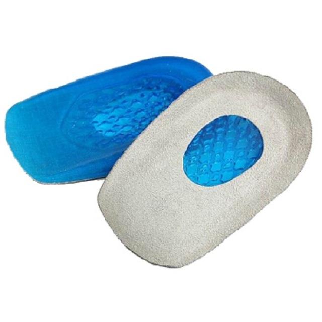 Гель + замша подошвенный фасциит пятки защитника шпоры подушка Pad для обуви стелька ...