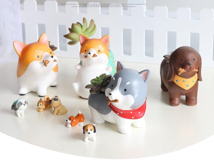Online kaufen gro handel tier blumentopf aus china tier for Tier blumentopf
