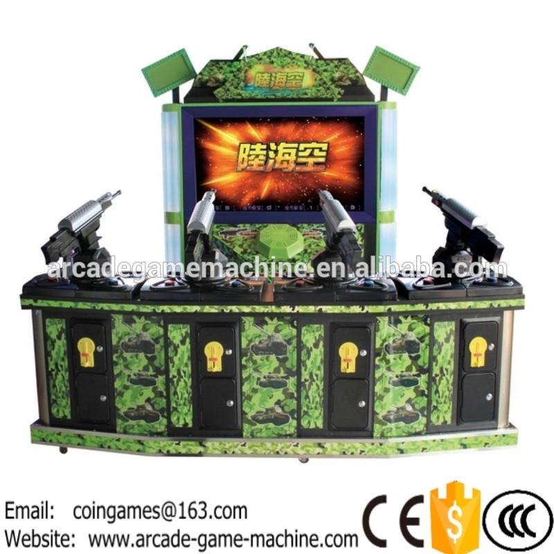 "[ 50"" LCD] 2016 New Amusement Ultimate War Arcade Coin Operated Simulator Gun Shooting Games Machine(China (Mainland))"
