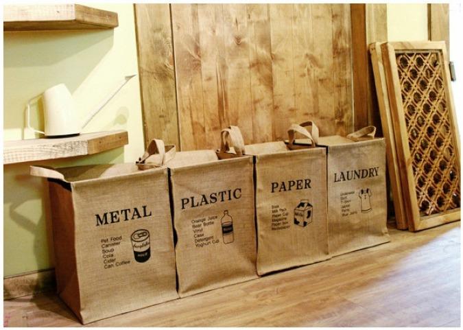 foldable retro jute organizer storage bag vintage Eco-Friendly socks Clothing bag Laundry Bags & Baskets 4 Designs(China (Mainland))